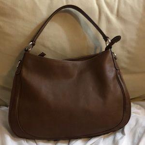 Pollini Leather Bag Beautiful Made in Italy Brown
